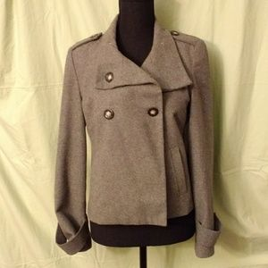 Gap gray wool jacket